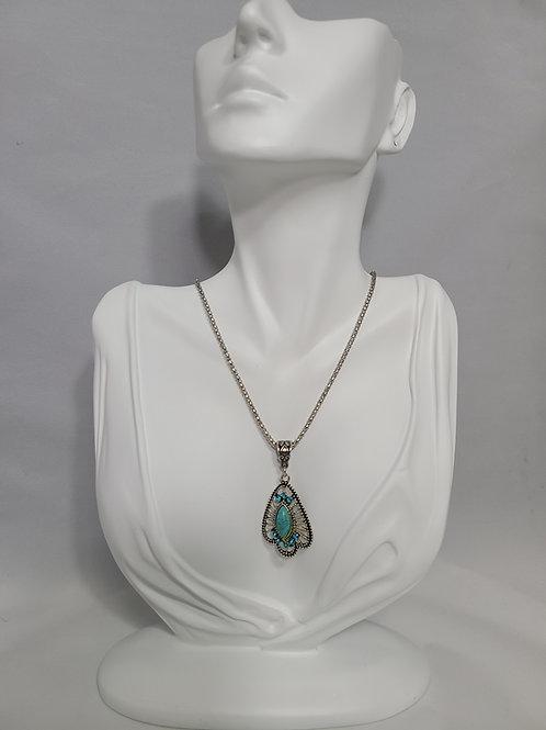 Brenda Boho Turquoise Necklace