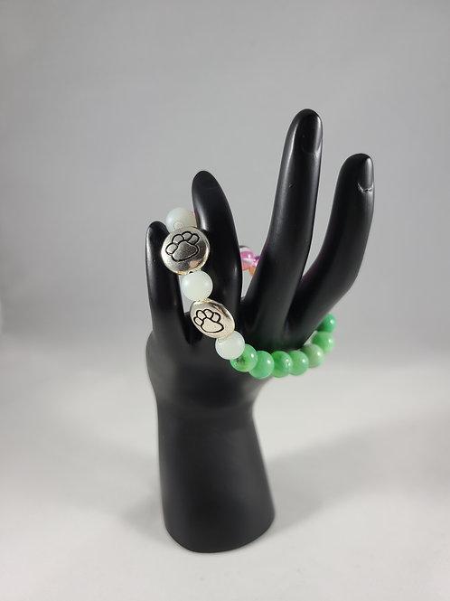 Paw Charm Bracelet