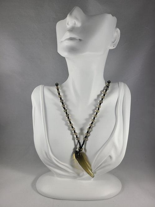Dragon Drop Pendant Necklace