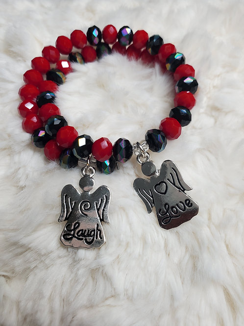 Laugh and Love Bracelet