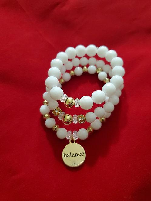 Balance Stacked Bracelet Set