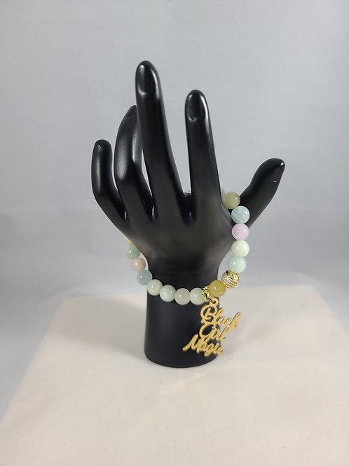 Candy Black Girl Magic Beaded Bracelet