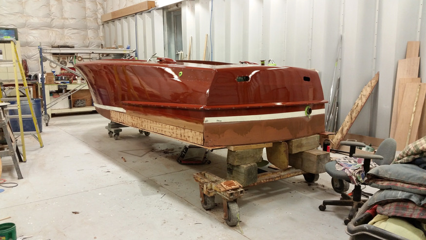 Boat Refinishing