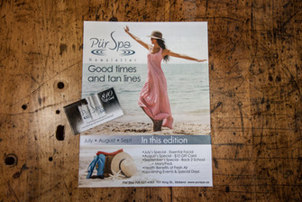Pur Spa Newsletter