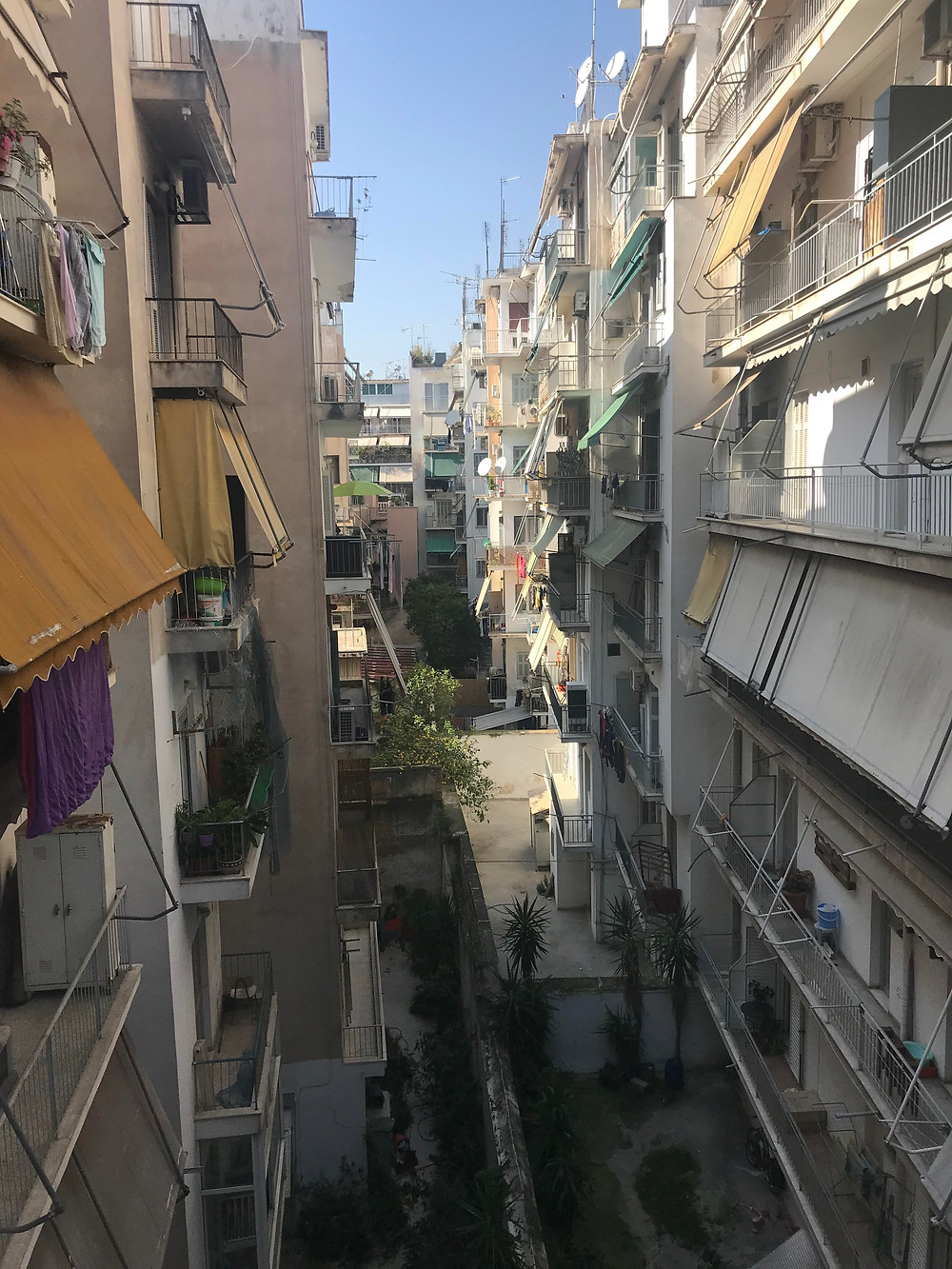 My balcony in Athens