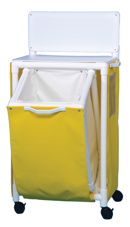 ISO-41 Isolation Station with Clean Gown Hamper
