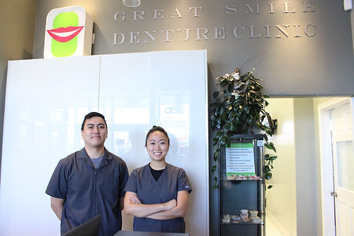 great smile denture team