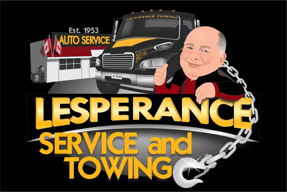 Lesperance Auto & Towing Logo-Willow Gra
