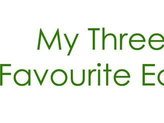 My Three Top Favourite Eco Sites