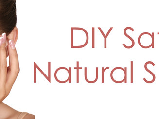 DIY Safe and Natural Sunscreen