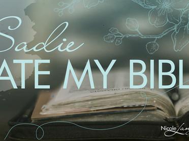 Sadie Ate My Bible
