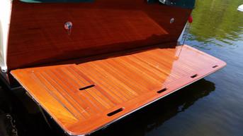 Custom Boat Deck