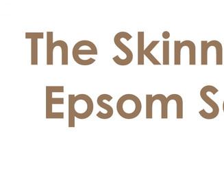 The Skinny on the Epsom Salt Bath