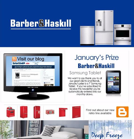 Barber & Haskill Newsletter