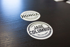 Willow Graphix & Co Promotional Stickers