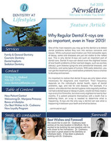 Dentistry At Lifestyles Newsletter
