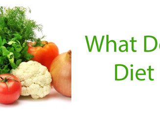 What Does a Healthy Diet Look Like?