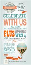 Willow Graphix & Co Balloon Anniversary