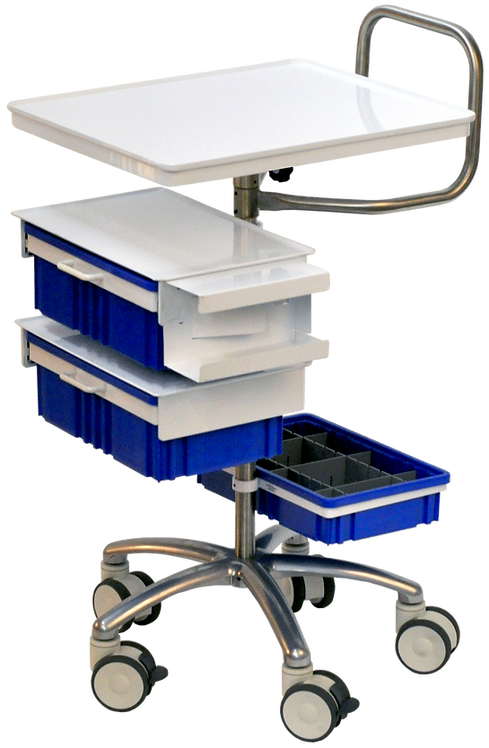 WOUND CARE CART