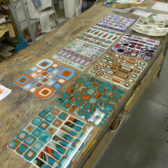Mosaic Platter Workshop