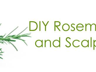 DIY Rosemary Mint Hair and Scalp Treatment