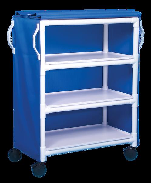 LC-36-3 3 Shelf Deluxe Linen Cart