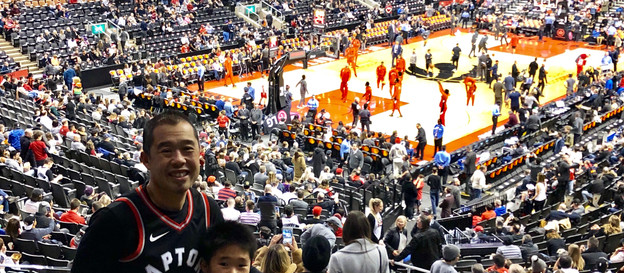 I am a Toronto Raptors basketball fan and have supported them since their inception.