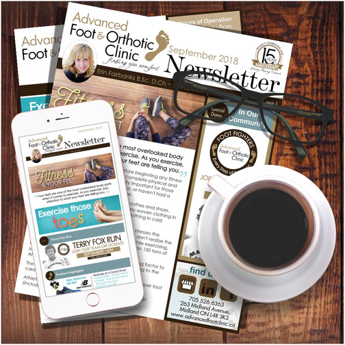 Advanced Foot & Orthotic Clinic Newsletter
