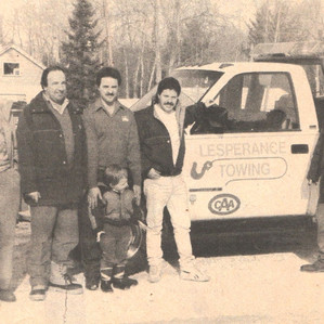 The Lesperance family has been towing for CAA for years!