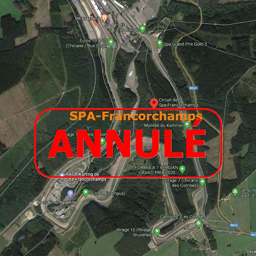 ANNULÉ - DD Cup à SPA Francorchamps (extra date)