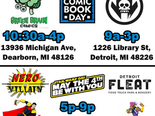 Free Comic Book Day on May the 4th Be With You!