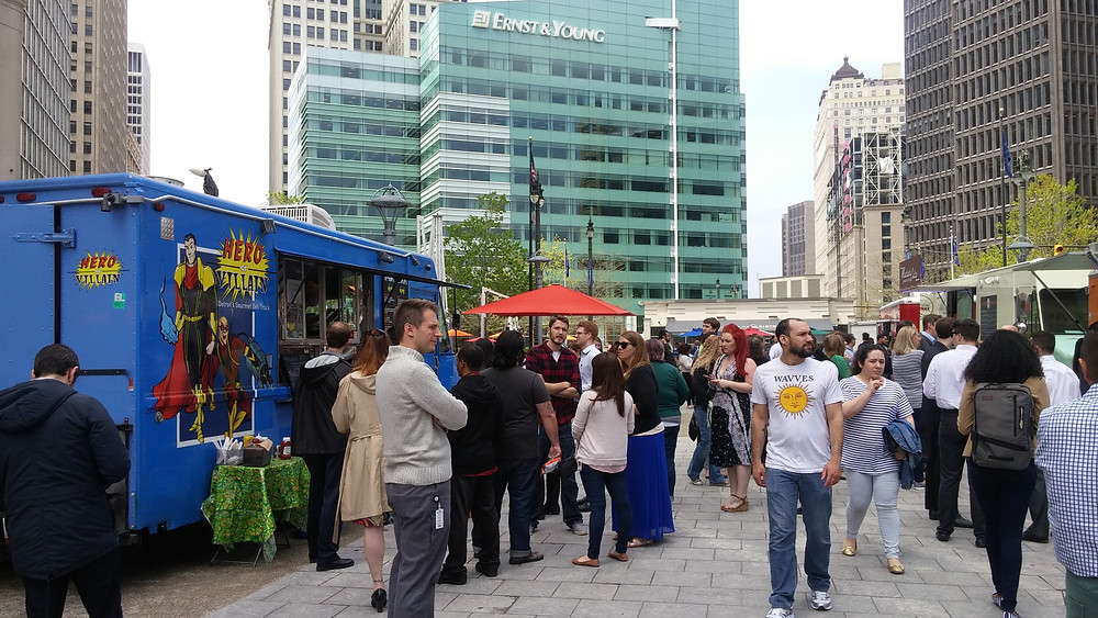 Corporate Catering, Creative Corporate Catering, Lunch Catering, Office Catering, Food Truck, Hero Or Villain, Detroit Food Truck