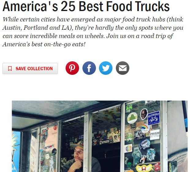 Best Food Truck in America. Hero Or Villain serving super sandwiches and delicious fries to Detroit and the greater Southeast Michigan area.