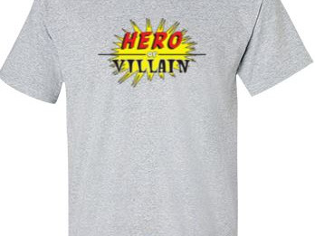 Hero Or Villain Apparel Now Available!