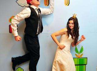 Super Mario themed DIY Wedding