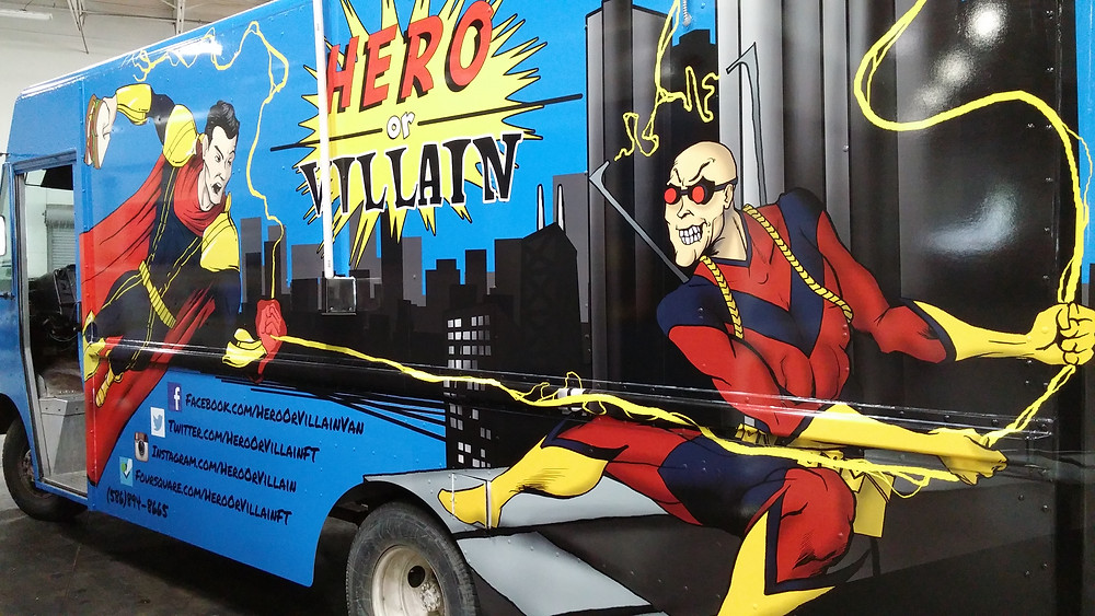 Hero Or Villain Detroit's Best Food Truck
