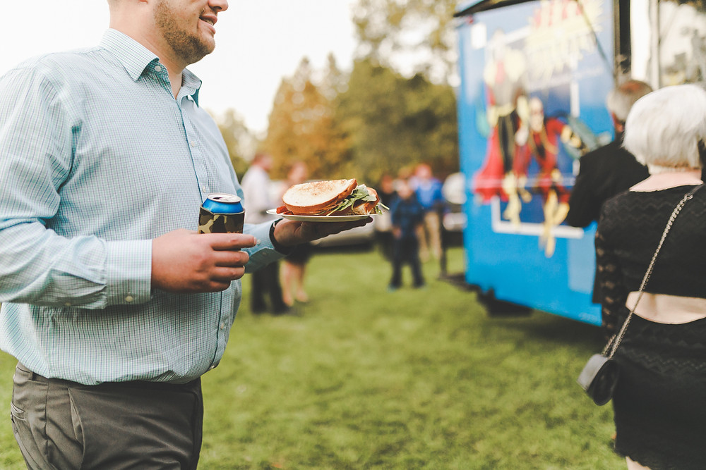 Hero Or Villain food truck offers wedding catering. Detroit best sandwiches and favorite fries