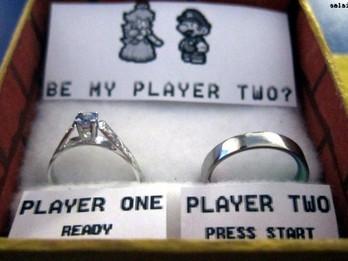 Geeky Wedding Proposals