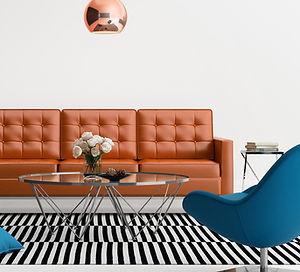 Interior de la sala de estar del diseño
