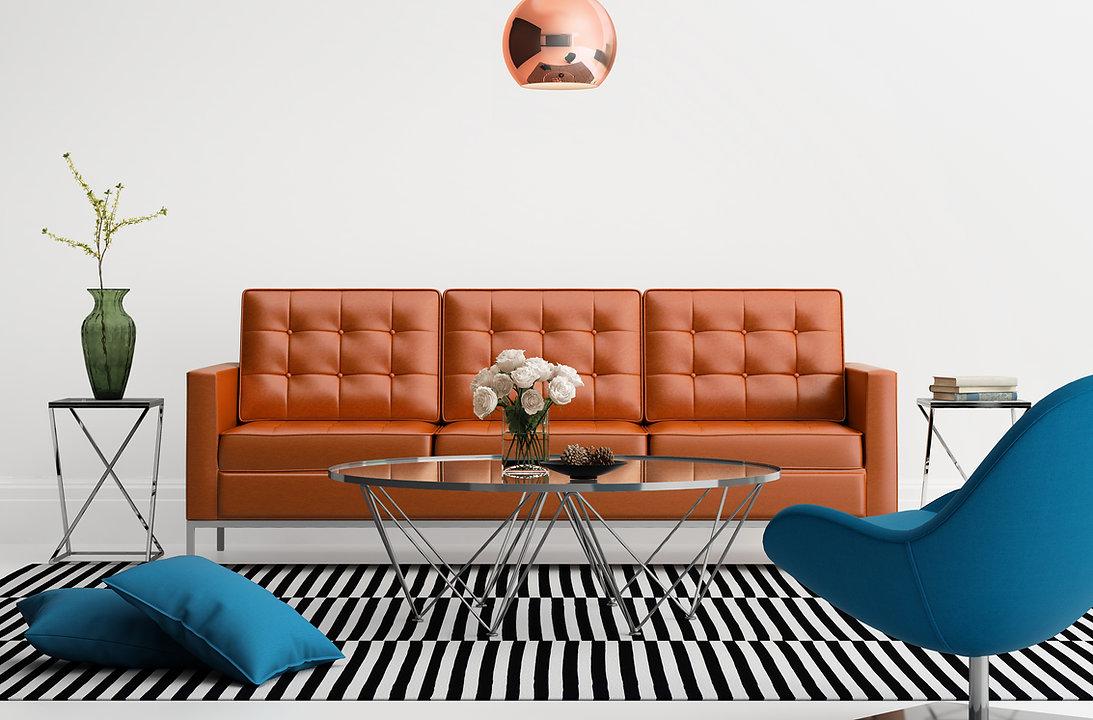 Innenarchitektur Wohnzimmer sofa_MMG