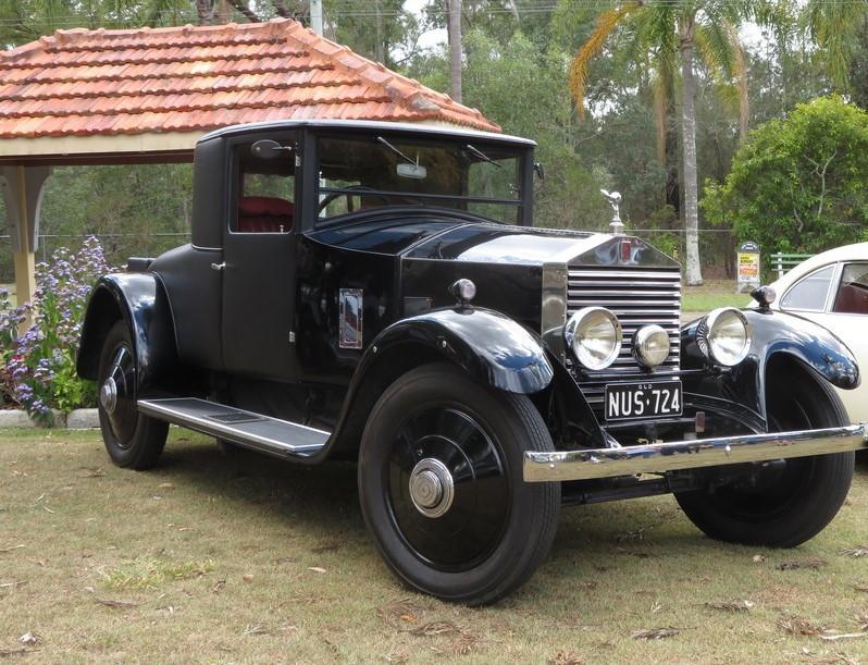 Geg Dunstan's 20hp Rolls-Royce