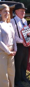 Gavin Mutton and Loretta Marron -Economy Buggy - FLYING RED HORSE SHIELD