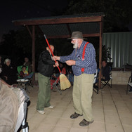 Senior VCCA(Q) types perform the Broom Dance