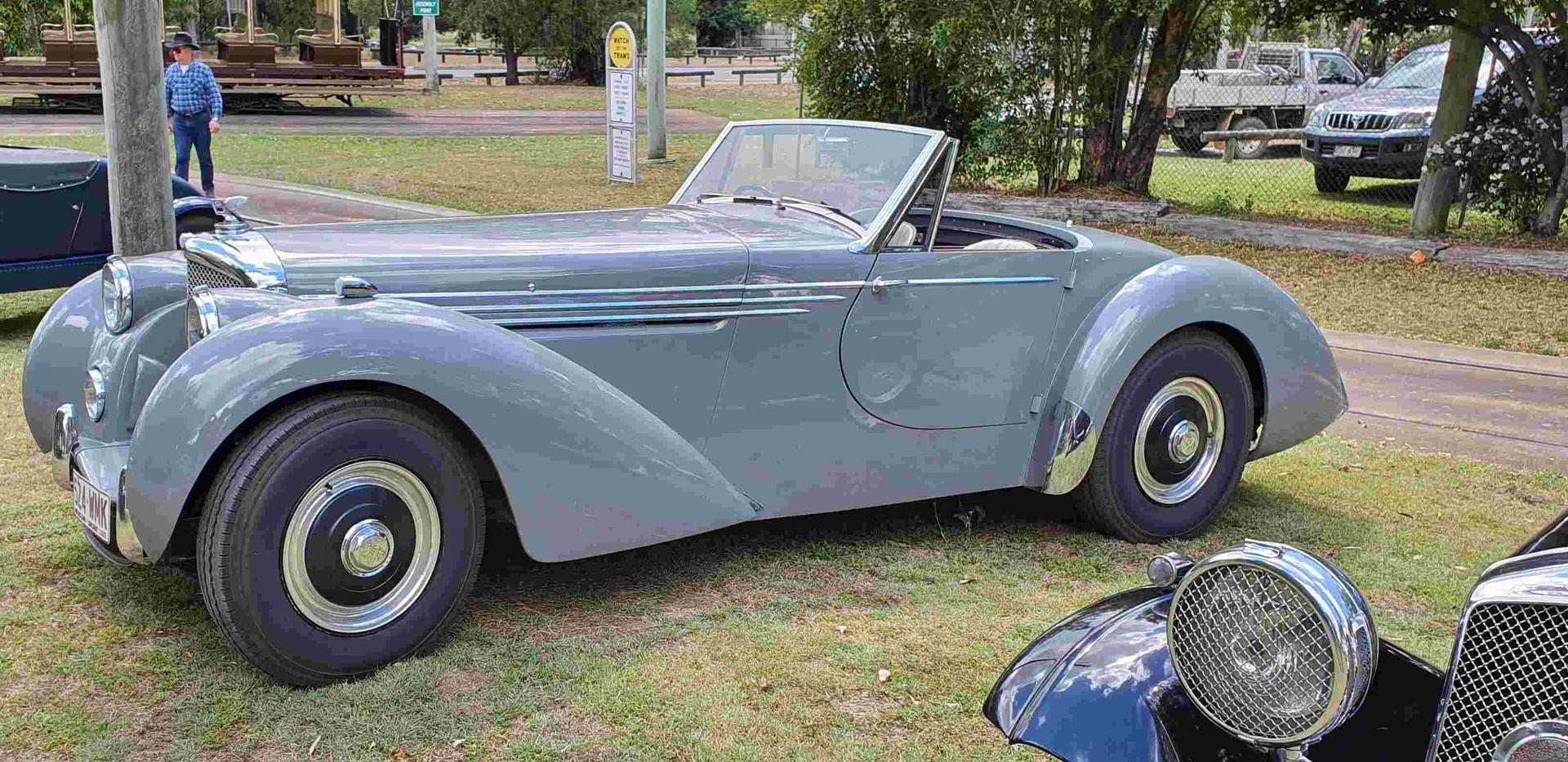Ivan Shaw's Mk VI Bentley