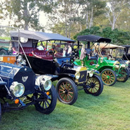 Parked for a rolling start at Boonaroo Bowls Club