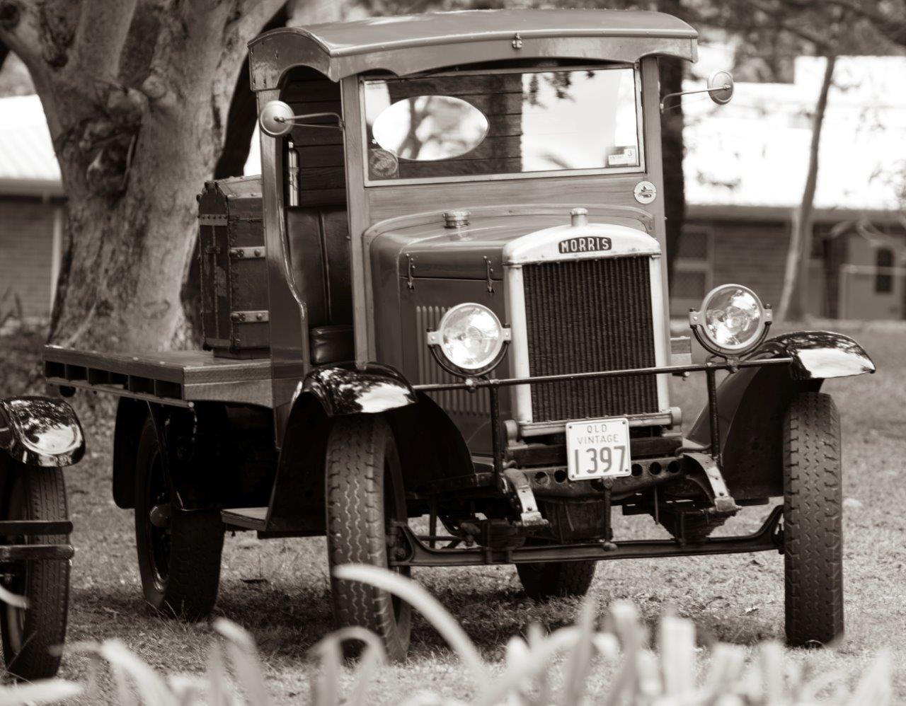 Shady Morris truck
