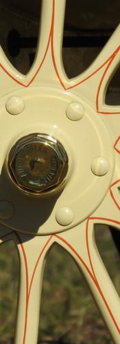Renault wheel detail