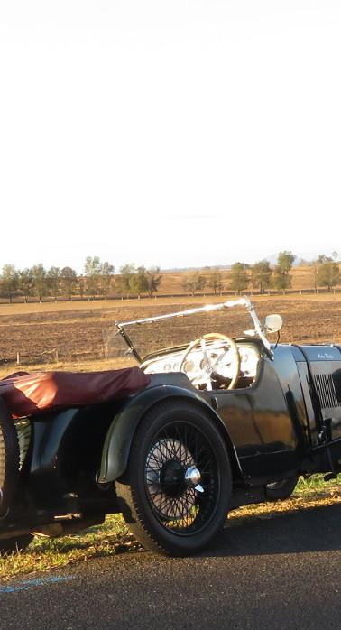 Aston Martin, dead at dawn.  Magneto.