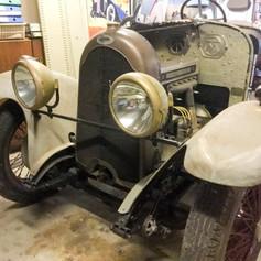 Turcat-Mery with ohc engine awaits coachwork