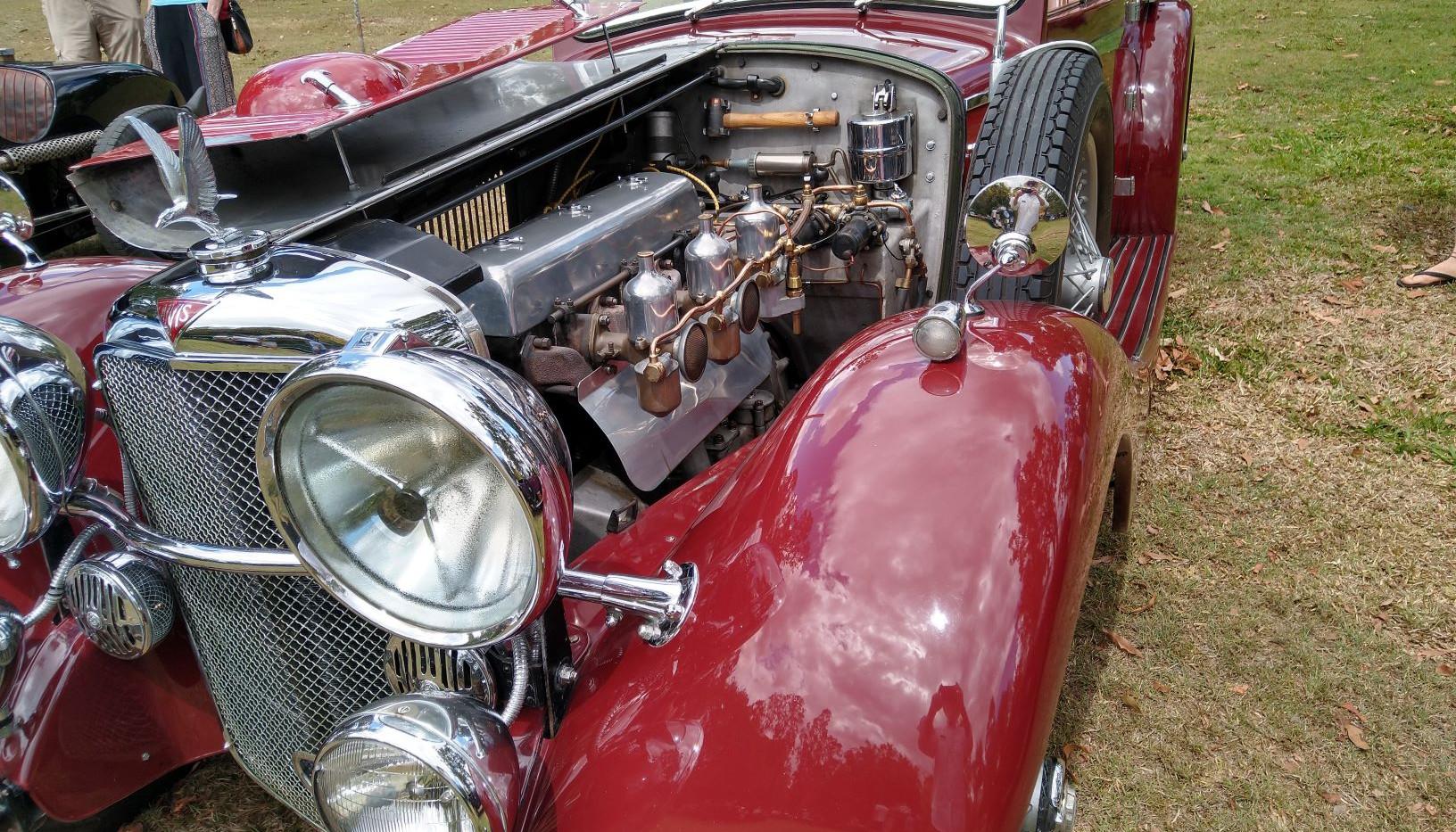 Dean Prangley's Speed 20 under-bonnet bling...